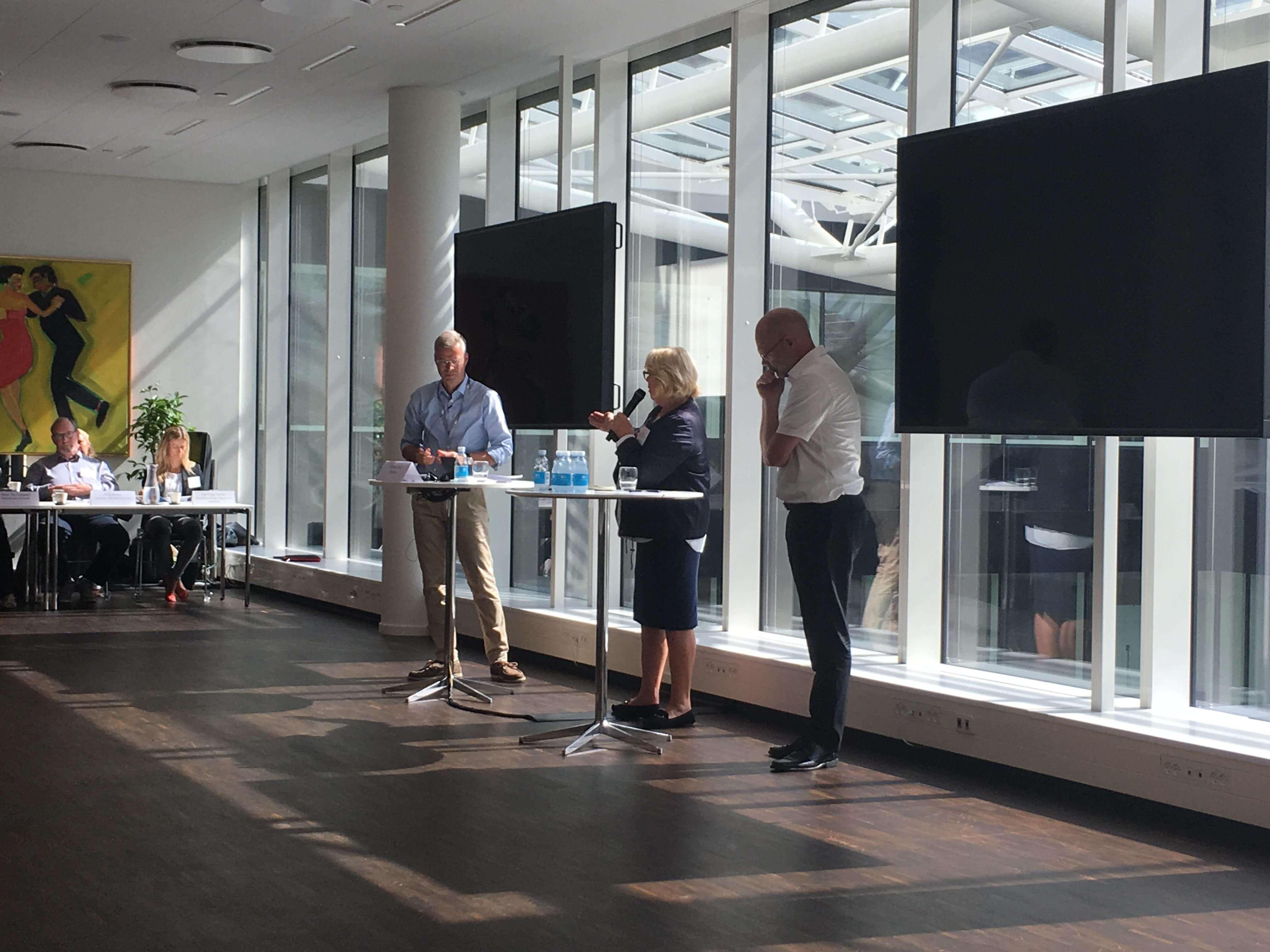 The Bridge Swedish-Danish roundtable meeting